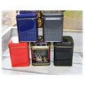 Tea Tins - 50g Square - Assorted colors