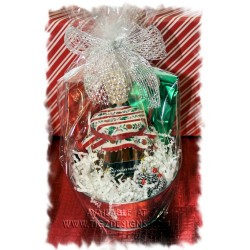 Creston Honey & Tea Christmas Basket