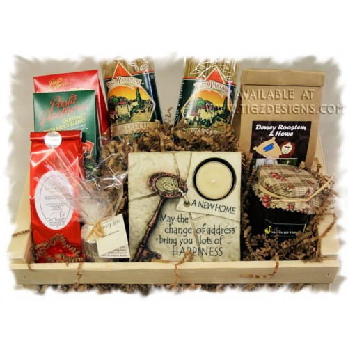New Home Gift Basket The Perfect Welcome To Your Kinda Creston Baskets