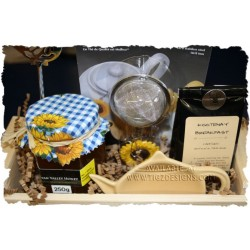 Kootenay Breakfast Tea Gift Basket - Creston BC