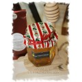 Christmas Sled with Swan Valley Honey & Tea - Creston Gift Baskets