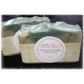 Yellow Rose Designs - Cool as a Cucumber Soap - Made in Creston BC