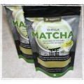DOMO Vanilla MATCHA Stone-Ground Tea Latte