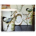 "McIntosh Fine Bone China - Robert Bateman's  ""Lively Pair Chickadees"" Mug"