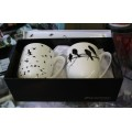 McIntosh Fine Bone China - Bird Silhouette Mug Pair
