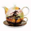 McIntosh Fine Bone China - Thomson Jack Pine Tea for One Gift Boxed Set