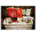 Happy Holidays Gift Basket - Sweet and Savory Gourmet Treats