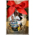 Tea, Honey & Biscotti for You Gift Basket - Creston BC Gift Baskets