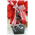 Sweets,Tea & Candlelight Gift Basket
