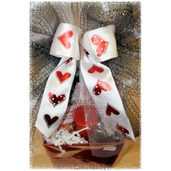 Hot Heart Massage & Chocolate Gift Basket - Creston delivery