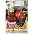 Backyard BBQ Gift Basket - Great for Dads that have everything!
