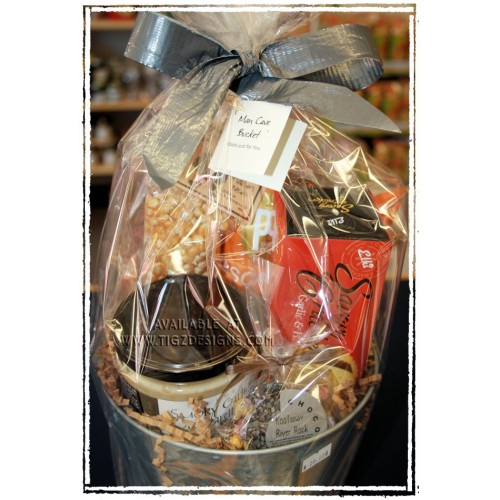 Man Cave Basket Ideas : Man cave snack bucket creston bc gift basket delivery
