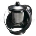 Chashan Teapot - 2 c Black with Infuser