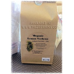 Organic Lemon Verbena - Creston BC Tea - Tigz TEA HUT