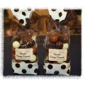 Assorted Creamy Caramels - Dark, Milk and White Chocolate, & Spiced Caramel