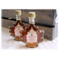 Smokey Kettle Pure Maple Syrup - Glass Maple Leaf