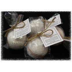 Kootenay Milk and Honey Bath Bombs locally made by Yellow Rose Designs