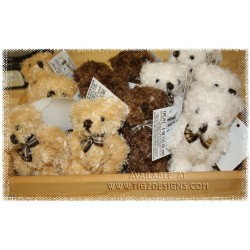 "4"" Jointed Shaggy Teddy Bears - Gift Basket Add-on"