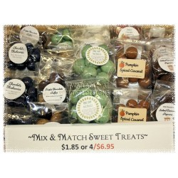 Mix & Match Chocolate Treats (4 - $6.95)
