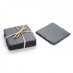 Slate Coaster Set - 4 pc
