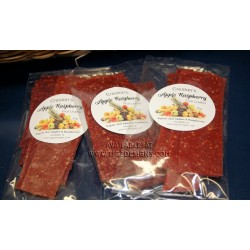 Apple Raspberry Fruit Leather - Made in Creston BC