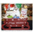 Holiday Sleigh Christmas Gift Basket - Creston Gift Basket delivery
