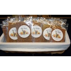 Pear Ginger Fruit Leather - Made in Creston BC
