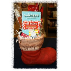 Santa Boot Gift Basket - Creston Christmas Gift Basket Delivery