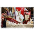 Santa's Plate of Cookies & Tea Gift Basket