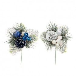 Basket Decor - Christmas Sprigs