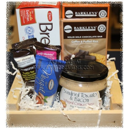 Gluten free sweet savory gift basket creston bc delivery negle Choice Image