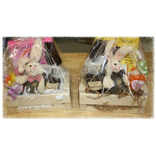 Or her harey lil easter gift his or her harey lil easter gift baskets negle Images