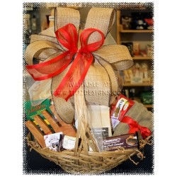 Pasta & Desert Gift Basket - Anniversary & New Home Baskets