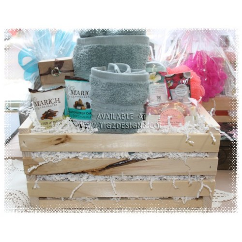 Take time for you spa gift basket creston bc delivery negle Image collections