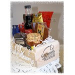 """Custom"" Gift Basket Starters - Crate, shredding, cello & ribbon"