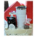 Tea & Travel Tea Mug Gift Basket - Creston Gift Baskets