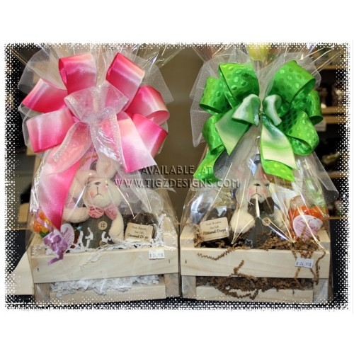 His or her harey lil easter gift baskets negle Choice Image