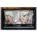 Bird Garden Mug Pair - McIntosh Fine Bone China