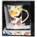 "McIntosh Fine Bone China - ""Butterflies of the World""  i-mug"