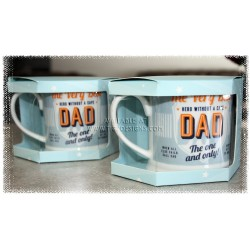 "Diner Style ""Dad"" Mug, Gift Boxed"