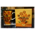 "McIntosh Fine Bone China - Van Gogh ""Sunflowers"" Grande Mug"