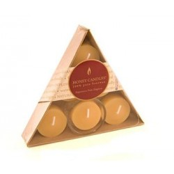 Honey Candles - Triangle Tealight Gift Pack