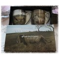 "McIntosh Fine Bone China Mug Pairs - Bateman ""Lions"""