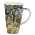 "McIntosh Fine Bone China - Rousseau ""Tiger in a Tropical Storm"" Grande Mug"