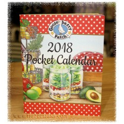 Gooseberry Patch 2018 Pocket Planner