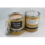 Soy Harvest Candles - Tin Man Candle Collection - Bacon Lovers or The Baker