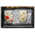 McIntosh Fine Bone China - Wildflower Mug Pair