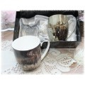 McIntosh Fine Bone China - Robert Bateman Moose Mug Pairs