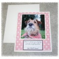 For the Love of Critters Pet Greeting Card - Get Well Soon (Josie)