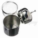California Floating Infuser with Drip Bowl - 18/8 Grade Stainless Steel